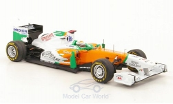Modellauto - <strong>Force India</strong> VJM04, No.14, Kingfisher, Formel 1, GP Monaco, A.Sutil, 2011<br /><br />Spark, 1:43<br />Nr. 173966