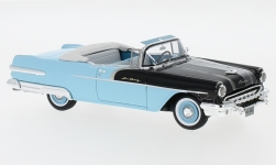 Modellauto - <strong>Pontiac</strong> Star Chief Convertible, schwarz/blau, 1956<br /><br />Neo, 1:43<br />Nr. 176613