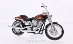 Modellino - <strong>Harley Davidson</strong> CVO Breakout, rame, 2014<br /><br />Maisto, 1:12<br />n. 203378