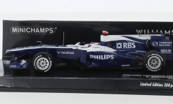 Modellauto - <strong>Williams</strong> Cosworth FW32, No.9, AT&T Williams, Formel 1, R.Barrichello, 2010<br /><br />Minichamps, 1:43<br />Nr. 219630