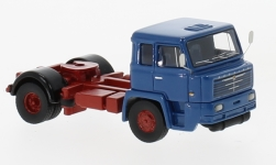 Modellauto - <strong>Büssing</strong> Commodore 16-210, blauw, 1965<br /><br />BoS-Models, 1:87<br />Nr. 229522