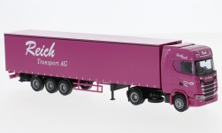 Modellauto - <strong>Scania</strong> S Aerop., Reich, G-KSZ<br /><br />AWM, 1:87<br />Nr. 233535