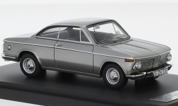 Modellauto - <strong>BMW</strong> 1600-2 Baur Coupe, silber, 1967<br /><br />Matrix, 1:43<br />Nr. 235858