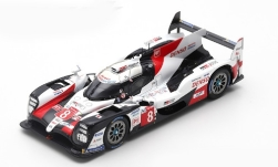 Modelo de coche - <strong>Toyota</strong> TS050 Hybrid, No.8, Toyota Gazoo Racing, 24h Le Mans, S.Buemi/K.Nakajima/F.Alonso, 2019<br /><br />Spark, 1:43<br />Nº 239016