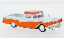ModelCar - <strong>Ford</strong> Ranchero, orange/weiss, 1957<br /><br />Lucky Die Cast, 1:43<br />番号 245299