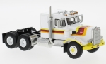 Modellauto - <strong>Peterbilt</strong> 351 SBFA Needle Nose, weiss/Dekor, 1971