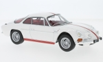 Modellauto - <strong>Alpine Renault</strong> A110 1600S, wit/rood, 1971