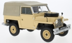 Modellauto - <strong>Land Rover</strong> Lightweight series IIA, beige, RHD, Soft Top, 1968