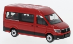 VW Crafter Bus HD, rot, 1/87, Herpa