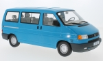 Modellauto - <strong>VW</strong> T4 Caravelle, blue, 1992