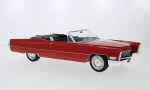 Modellauto - <strong>Cadillac</strong> DeVille Convertible, red, 1968