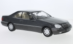Modellauto - <strong>Mercedes</strong> 600 SEC (C140), metallic-anthracite, 1992