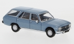 Peugeot 504 Break, metallic-hellblau, 1/87, PCX87