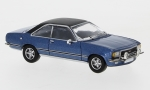 Opel Commodore B Coupe, metallic-blau/matt-schwarz, 1/87, PCX87