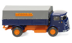 Büssing 4500, blau/orange, Büssing, 1/87, Wiking