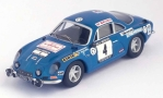 Modellauto - <strong>Alpine Renault</strong> A110, No.4, RAC Rallye, O.Andersson/G.Phillips, 1971