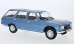 Modellauto - <strong>Peugeot</strong> 504 Break, metallic-blau, 1976