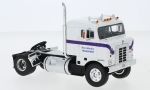 Modellauto - <strong>Kenworth</strong> Bullnose, weiss/blau, Ross Mackie Transport, 1950