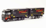 Mercedes Actros BigSpace, rot, Fahrschule Olaf Großhauser, 1/87, Herpa