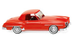 Mercedes 190 SL Coupe (W121 BII), rot, 1/87, Wiking