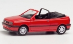 VW Golf III Cabriolet, rot, 1/87, Herpa