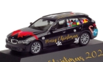 BMW 3er Touring, Merry Christmas, 1/87, Herpa