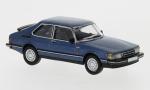 Saab 900 Turbo, metallic-dunkelblau, 1/87, PCX87