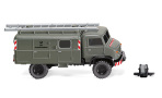Mercedes Unimog S 404, DBP-Fernmeldedienst, 1/87, Wiking