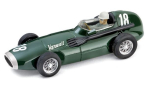 Modellauto - <strong>Vanwall</strong> F.1, No.18, Formel 1, GP Großbritannien, Moss Collection mit Figur, T.Brooks/S.Moss, 1957