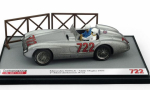 Modellauto - <strong>Mercedes</strong> 300 SLR, No.722, Mille Miglia, Moss Collection mit Figuren, S.Moss/D.Jenkinson, 1955