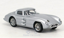 Modellauto - <strong>Mercedes</strong> 300 SLR Coupe, silber, 1955<br /><br />Brumm, 1:43<br />Nr. 114128