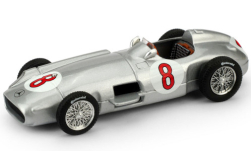 Modellauto - <strong>Mercedes</strong> W196, No.8, GP Niederland, J.M.Fangio, 1955<br /><br />Brumm, 1:43<br />Nr. 114132