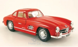 Modelcar - <strong>Mercedes</strong> 300 SL (W198), red<br /><br />Bburago, 1:18<br />No. 115603