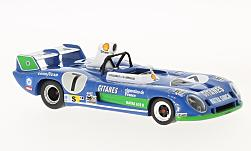 voiture miniature - <strong>Matra</strong> 670 B, No.7, 24h Le Mans, H.Pescarolo/G.Larrousse, 1974<br /><br />IXO, 1:43<br />N° 123286