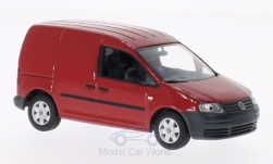 Modellauto - <strong>VW</strong> Caddy, rot, 2004<br /><br />I-Minichamps, 1:43<br />Nr. 127194