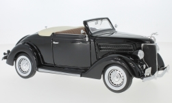 Modelcar - <strong>Ford</strong> De Luxe Convertible, black, 1936<br /><br />Welly, 1:18<br />No. 127441