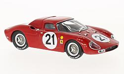 Modelcar - <strong>Ferrari</strong> 250 LM, RHD, No.21, 24h Le Mans, M.Gregory/J.Rindt, 1965<br /><br />IXO, 1:43<br />No. 127594