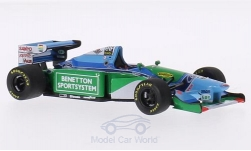 Modelcar - <strong>Benetton</strong> Ford B194, No.5, formula 1, GP Monaco, M.Schumacher, 1994<br /><br />Minichamps, 1:43<br />No. 128142