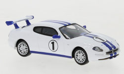 Modellauto - <strong>Maserati</strong> 3200 GT Trofeo, weiss/blau, No.1, 2002<br /><br />Ricko, 1:87<br />Nr. 129030