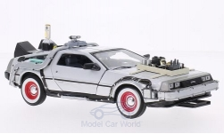 Modellauto - <strong>DeLorean</strong> Back to the future III<br /><br />Welly, 1:24<br />Nr. 129140