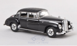 Modelcar - <strong>Mercedes</strong> 300c (W186), black, without showcase, 1955<br /><br />Ricko, 1:87<br />No. 131619