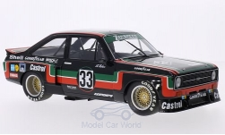 voiture miniature - <strong>Ford</strong> Escort II RS 1800, No.33, Zakspeed, Castrol, DRM, ADAC Supersprint, A.Hahne, 1976<br /><br />Minichamps, 1:18<br />N° 132087