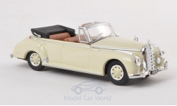 Modellauto - <strong>Mercedes</strong> 300c (W186) Cabriolet, beige, 1955<br /><br />Ricko, 1:87<br />Nr. 133692