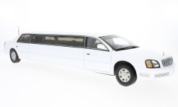 Modellauto - <strong>Cadillac</strong> DeVille Limousine, weiss, 2004<br /><br />Sun Star, 1:18<br />Nr. 134513