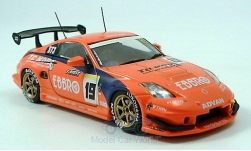 Modellauto - <strong>Nissan</strong> 350 Z, rot, No.19, Super Taikyu, 2005<br /><br />Ebbro, 1:43<br />Nr. 134548