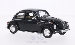 Modellino - <strong>VW</strong> scarabeo, nero, 1968<br /><br />Welly, 1:24<br />n. 136011