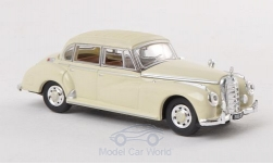 Modellauto - <strong>Mercedes</strong> 300 C Limousine, beige, 1955<br /><br />Ricko, 1:87<br />Nr. 136572