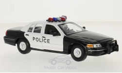 Modellauto - <strong>Ford</strong> Crown Victoria,  Police<br /><br />Welly, 1:24<br />Nr. 136876