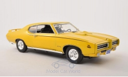 Modellauto - <strong>Pontiac</strong> GTO Judge, gelb, 1969<br /><br />Motormax, 1:18<br />Nr. 138627