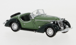 Modelcar - <strong>Wanderer</strong> W25K Roadster, green/dark green, 1936<br /><br />Ricko, 1:87<br />No. 138762